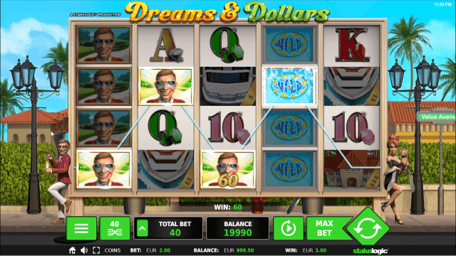 Бонусная игра Dreams And Dollars 9