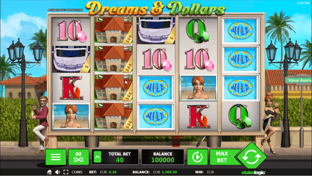 Бонусная игра Dreams And Dollars 10