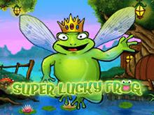 Игровой автомат Удачливая Лягушка онлайн